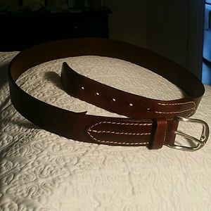 Men's Cole Haan Brown Leather Belt